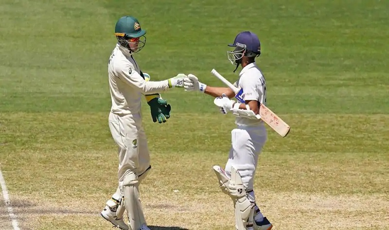 australia india second test match