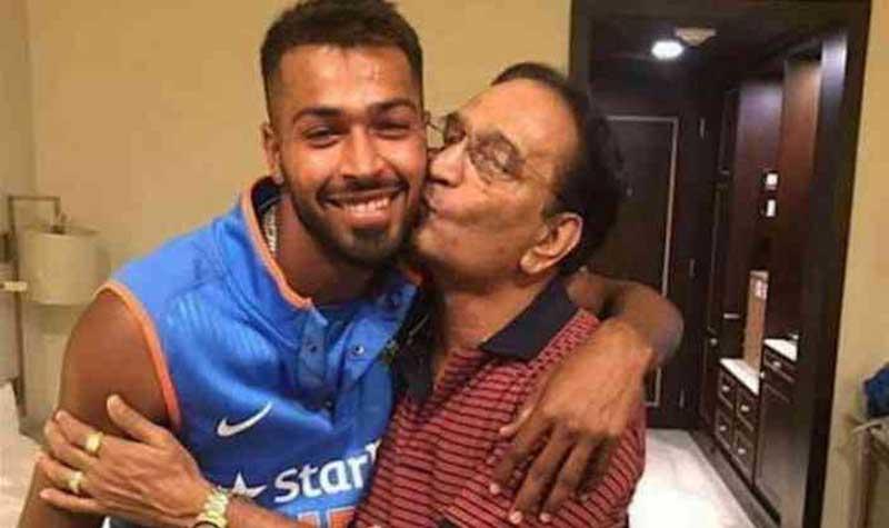 Hardik Pandya father passed